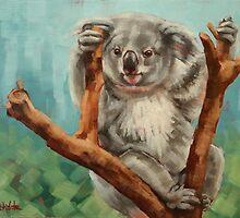 Australian Koala by Margaret Stockdale