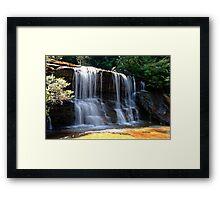 Wentworth Falls - Blue Mtns  - OZ Framed Print