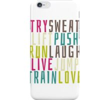 Live Hard iPhone Case/Skin