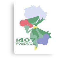 ROSERADE! POKEMON! Canvas Print