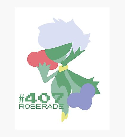 ROSERADE! POKEMON! Photographic Print