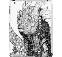 Dragons portrait iPad Case/Skin