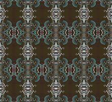 Aztec design textile  04-10-2008 by Dominic Melfi