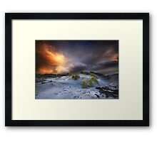 Arisaig Sunset Framed Print