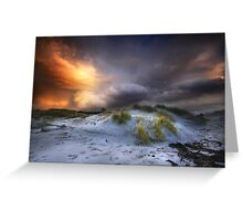 Arisaig Sunset Greeting Card