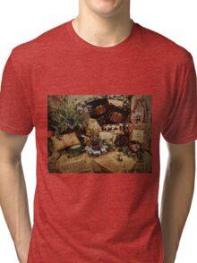 Country Christmas Crafts 3 Tri-blend T-Shirt