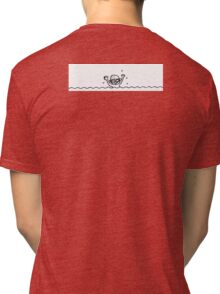 Swimming boy Tri-blend T-Shirt