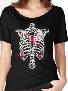 Broken Heart In Cage Women's Relaxed Fit T-Shirt