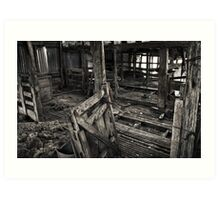 Wool Shed II Art Print