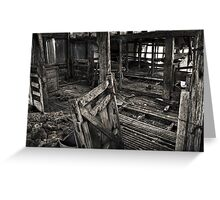 Wool Shed II Greeting Card