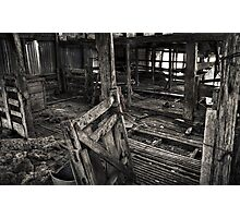 Wool Shed II Photographic Print