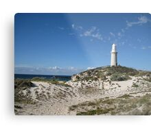 Lighthouse at  Rottnest Island - 2 Metal Print