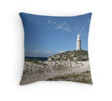 Lighthouse at  Rottnest Island - 2 Throw Pillow