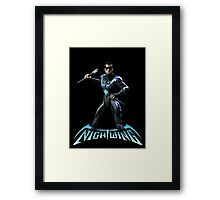 Injustice - Nightwing  Framed Print