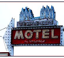 Temple City Motel - South Salt Lake City, Utah by Ryan Houston