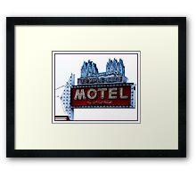 Temple City Motel - South Salt Lake City, Utah Framed Print