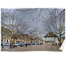 Market Place, Witney Poster