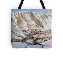 Village in winter (Afghanistan) Tote Bag