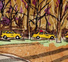 Taxi Taxi Sticker