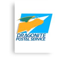 The Dragonite Postal Service Canvas Print