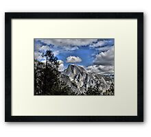 Half Dome with a Crown Framed Print