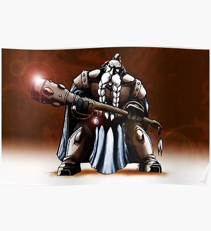 Dwarf Warrior Poster