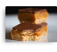 Chocolate and Caramel Canvas Print