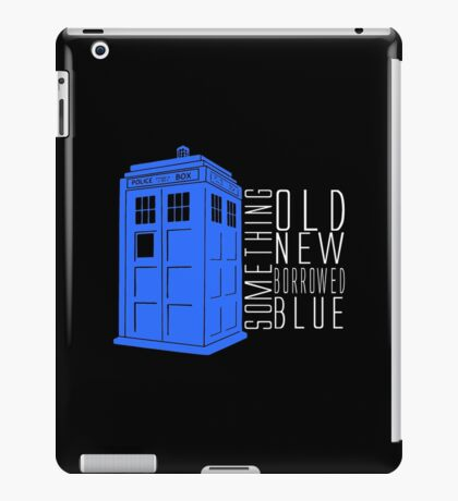 Something Blue iPad Case/Skin