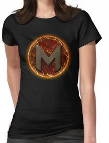Magmasurge Logo   Apparel, Stickers, Pillows and more! Womens Fitted T-Shirt