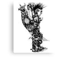 demon slayer angel Canvas Print