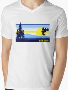 Ride Idaho Mens V-Neck T-Shirt