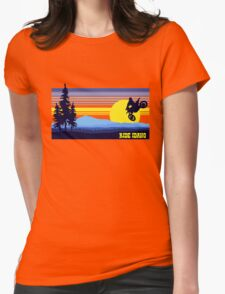 Ride Idaho Womens Fitted T-Shirt