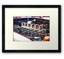 Carburetors  Framed Print