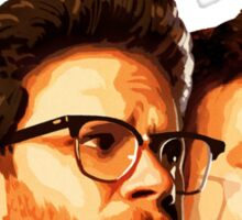 The Interview - Franco and Rogen Sticker