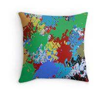 (COLOR RULES-A) ERIC WHITEMAN ART Throw Pillow