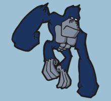 Blue Gorilla by Francesco van der Zwaag