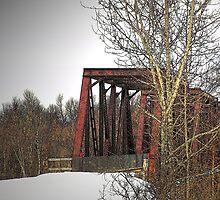 Trestled Bridge by Gene Cyr