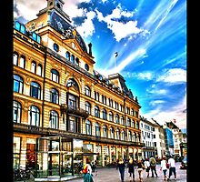 Magasin Du Nord department store, Copenhagen, by Tim Constable by Tim Constable