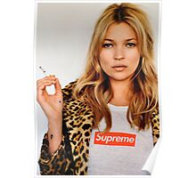 Kate Moss for Supreme Media Cases, Pillows, and More. Poster
