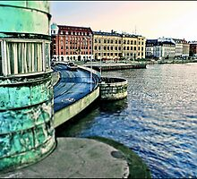 Copenhagen City View by Tim Constable. by Tim Constable
