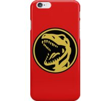 Red Ranger Coin iPhone Case/Skin