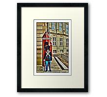 Royal Life Guard, Copenhagen, by Tim Constable Framed Print