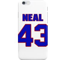 National baseball player Charlie Neal jersey 43 iPhone Case/Skin