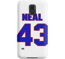 National baseball player Charlie Neal jersey 43 Samsung Galaxy Case/Skin