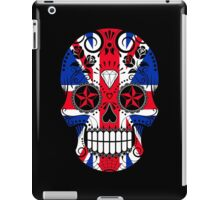 Sugar Skull with Roses and Union Jack iPad Case/Skin