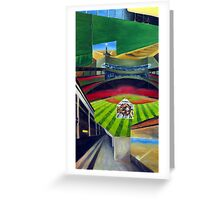 Fenway Park- The Green Monster Greeting Card