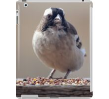 Is this for me...? (Sparrow / Mossie) iPad Case/Skin