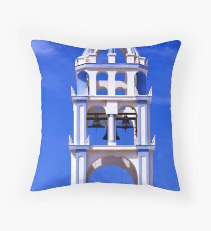 Blue Bells Throw Pillow