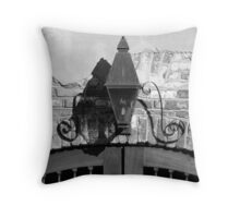 Queen Street Gas Lamp #1 Throw Pillow