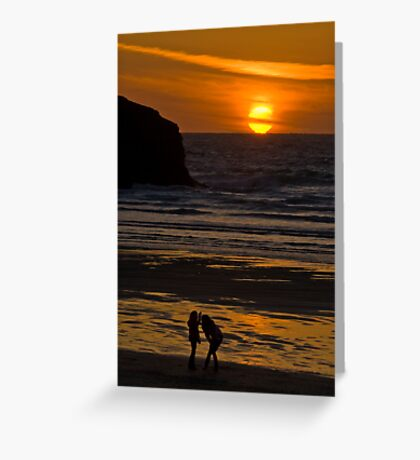 You Caught It. Greeting Card